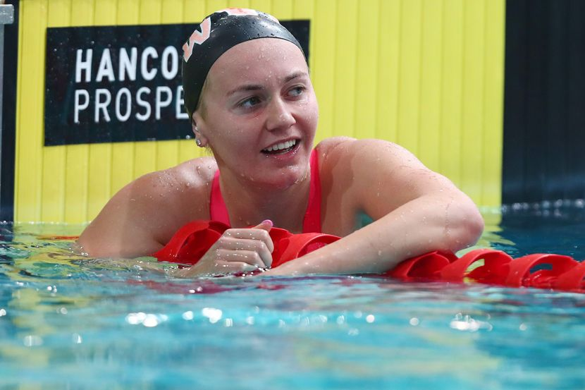 """Ariarne Titmus (AUS): """"Where I am today would not be possible without my coach Dean"""""""