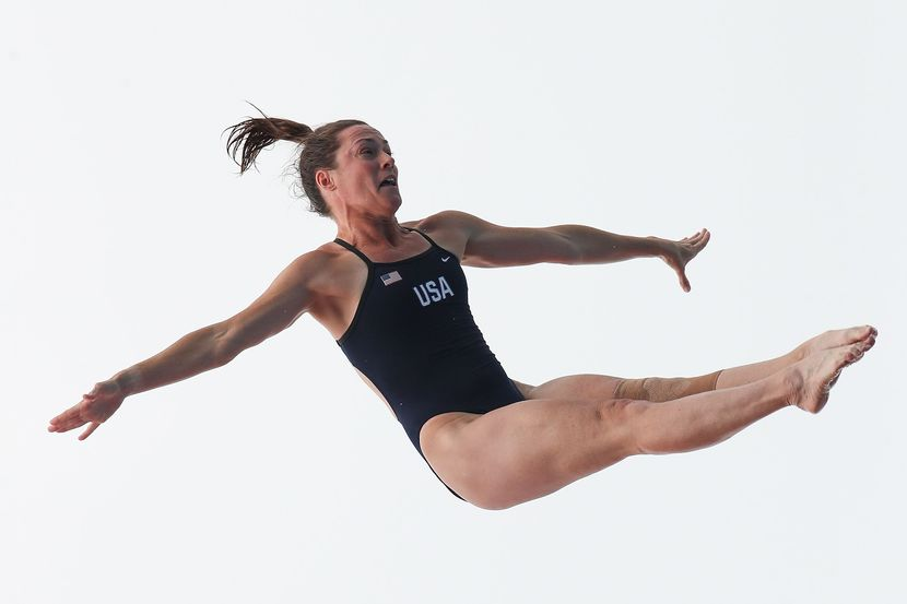 "Ginger Huber (USA):  ""My heart and soul will always be jumping off of high places"""