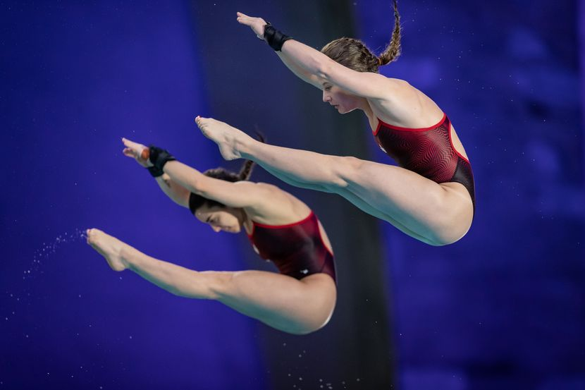 DWS, Montreal, Day 1: Canada and Russia share the honours, with two gold each