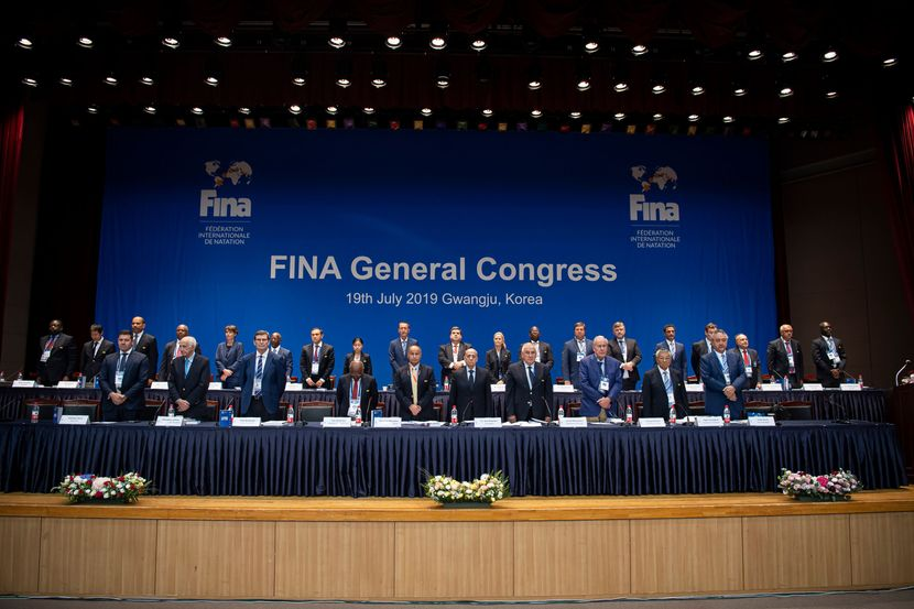 PR 58 - FINA General Congress in Gwangju (KOR)