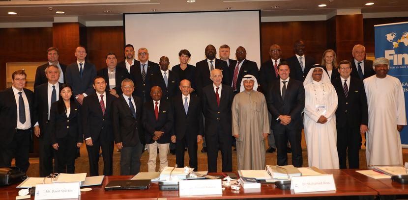 PR 96 - FINA Bureau Meeting in Kuwait City (KUW)