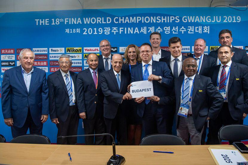 PR 59 – Kazan 2025 and Budapest 2027, hosts of the FINA showcase