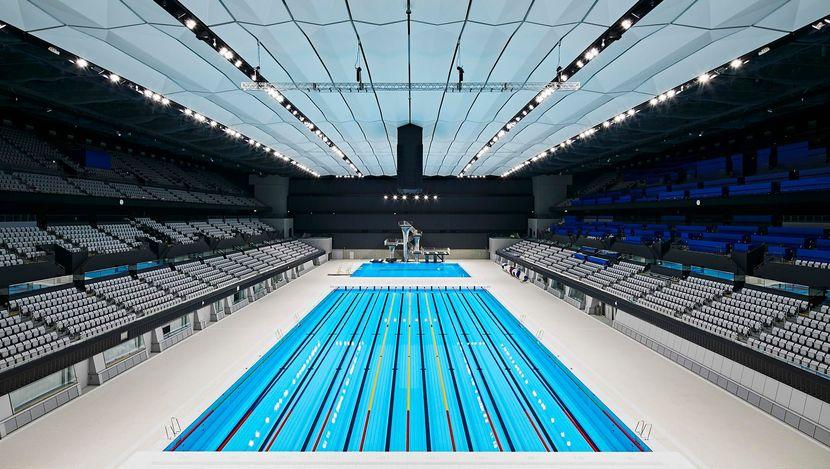 Tokyo 2020 inaugurates Aquatics Centre