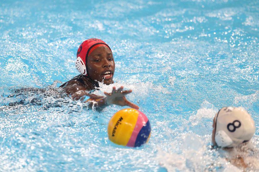 Golden Gwangju – water polo: Ashleigh Johnson (USA)  Fantastic effort by everyone