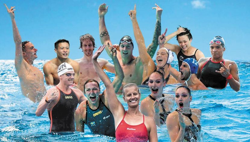 """FINA BEST ATHLETES OF THE YEAR"""" HONOURED AFTER A MEMORABLE 2019"""