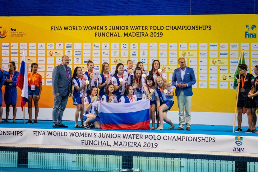 Day 7, World Women's Junior Water Polo Championship: Russia takes back-to-back gold