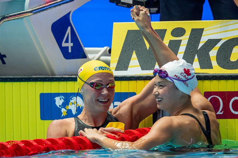 Hosszu writes history with 4th straight 200m IM title as McNeil upsets Sjostrom