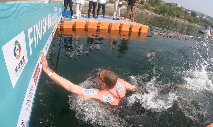 Weertman and Bridi, winners at FINA/CNSG Marathon Swim World Series in Chun'an