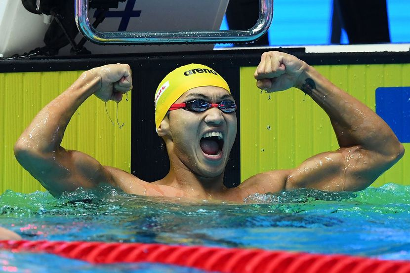 """Xu Jiayu (CHN): """"It's great to have the best of the world in one place"""""""
