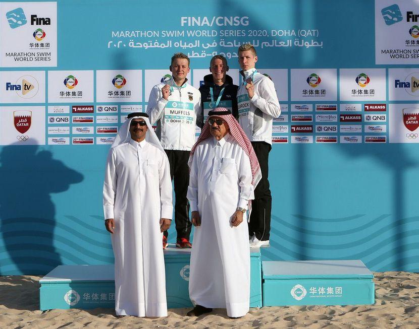 PR 7 -MSWS: Olivier (FRA) and Beck (GER) excel in Doha (QAT)
