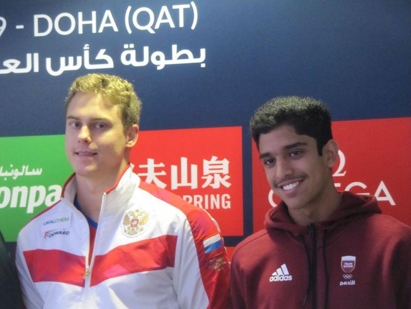 Morozov, Qatar's next generation set for SWC final in Doha