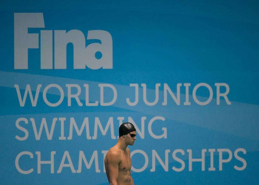 Indianapolis, Day 4 - World Junior Record trifecta achieved by USA's Michael Andrew