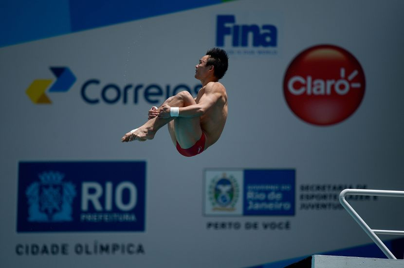Qiu Bo closes the Diving World Cup with gold