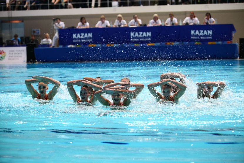 Jr Synchro Worlds, Kazan, Day 4: medals on offer grabbed by 3 nations