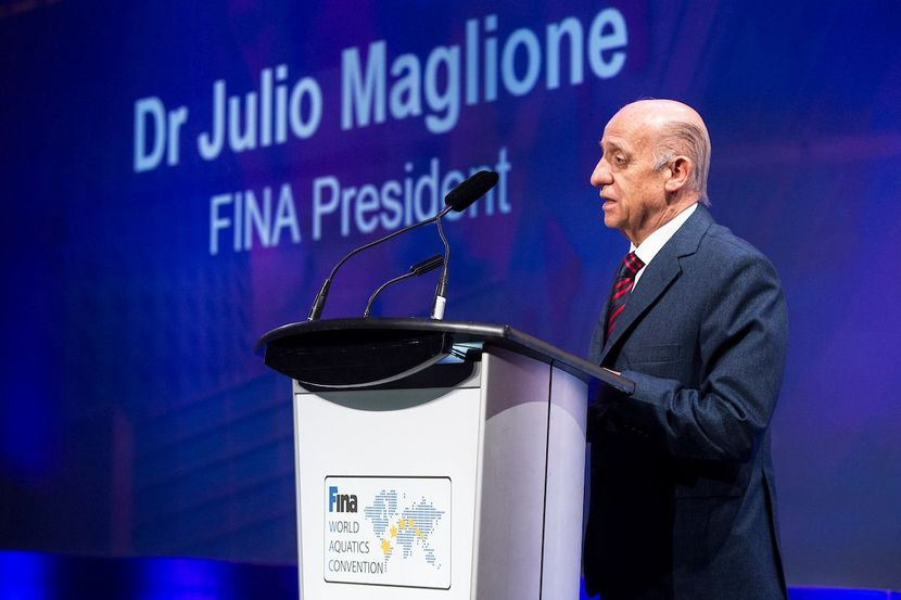 Interview with FINA President Dr. Julio Maglione