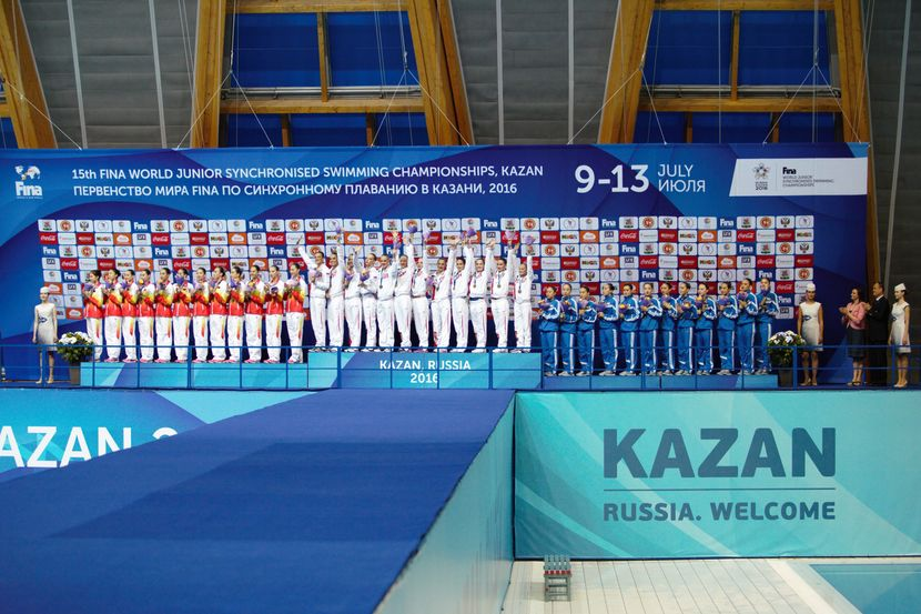 PR 59– Junior Synchro: Four titles swept away by Russia in Kazan