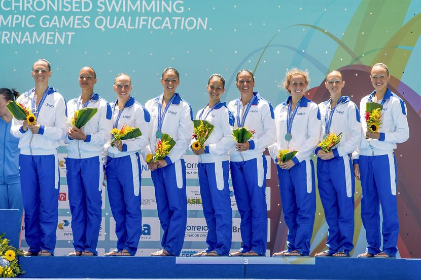 First ever Olympic team event qualification for Ukraine