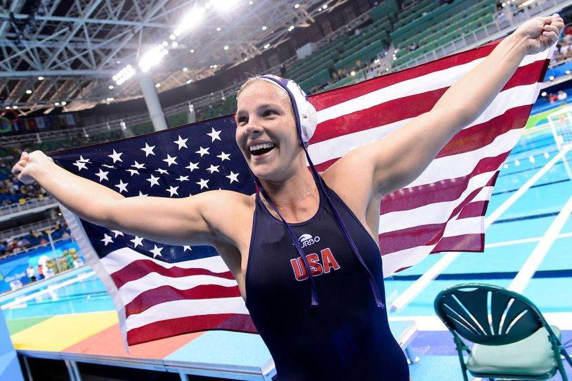 EXPERT'S EYE DAY 14 - USA retain gold in women's water polo