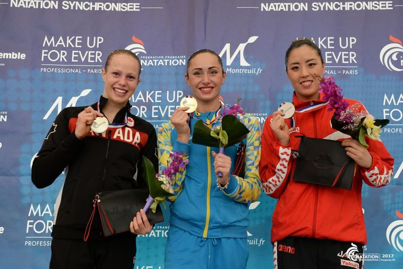 First titles in Paris for Ukraine and Japan