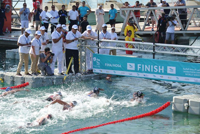 Wellbrock and Bridi win last stop in Abu Dhabi