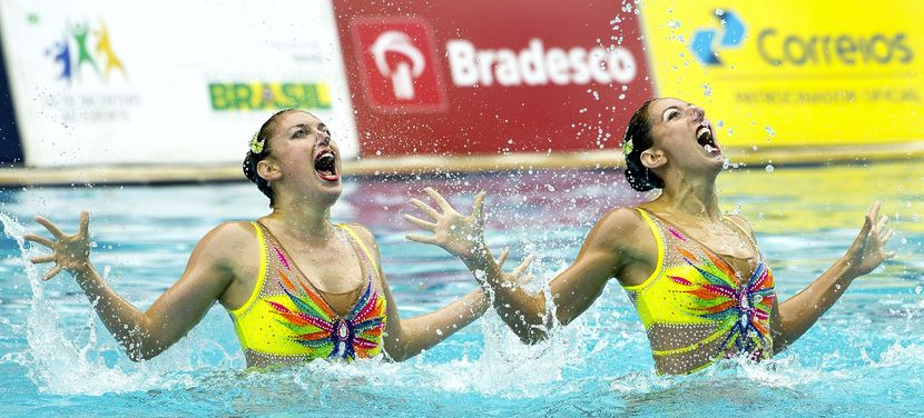 Spain leads Opening Day of Synchro Olympic Qualification Tournament