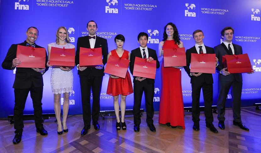 FINA GALA: Crowning the stars of 2015
