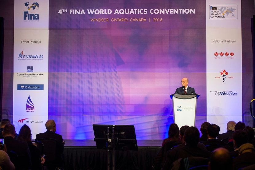 FINA World Aquatic Convention 2018: programme