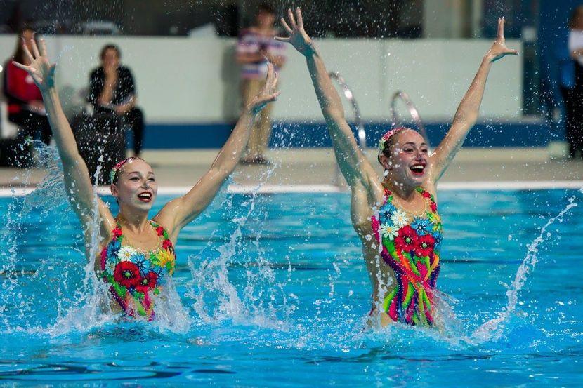 Synchro World Series – Ukrainian duet earns gold