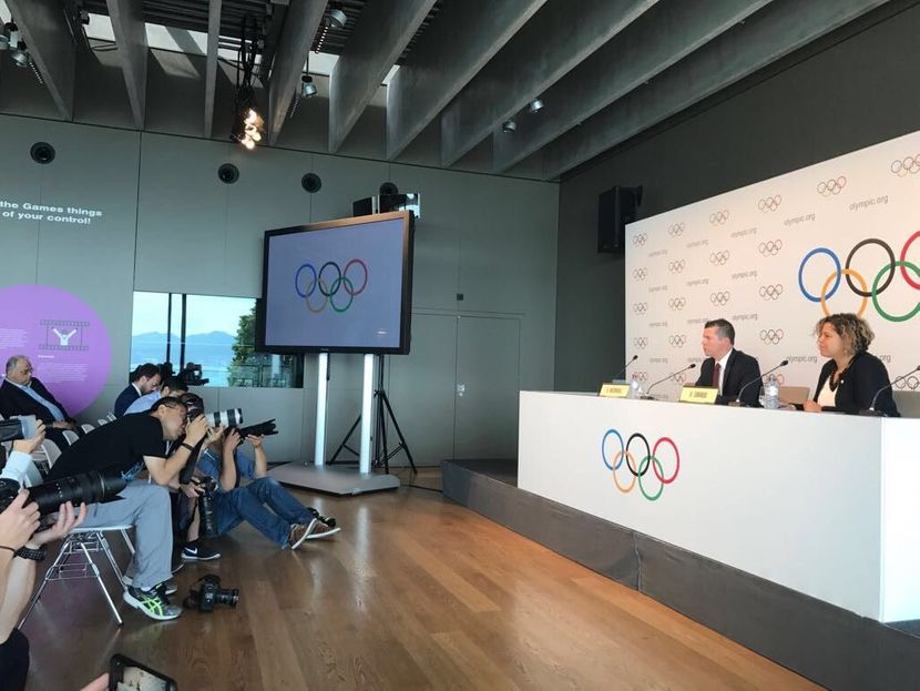 PR 41 - FINA consolidates growth in the Olympic programme