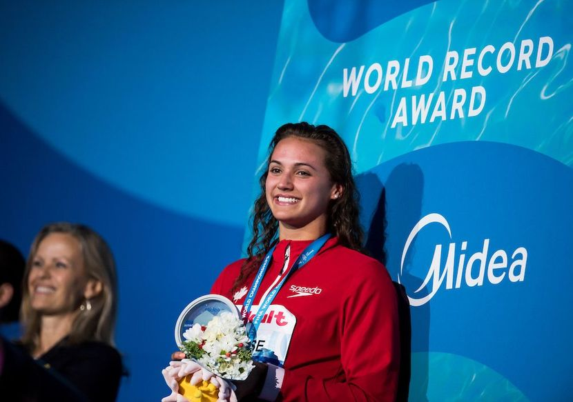 Kylie Masse wins historic victory for Canada