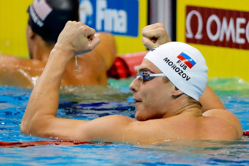 SWC 2018, Singapore, Day 1: World Cup points leaders Sjostrom, Morozov continue winning