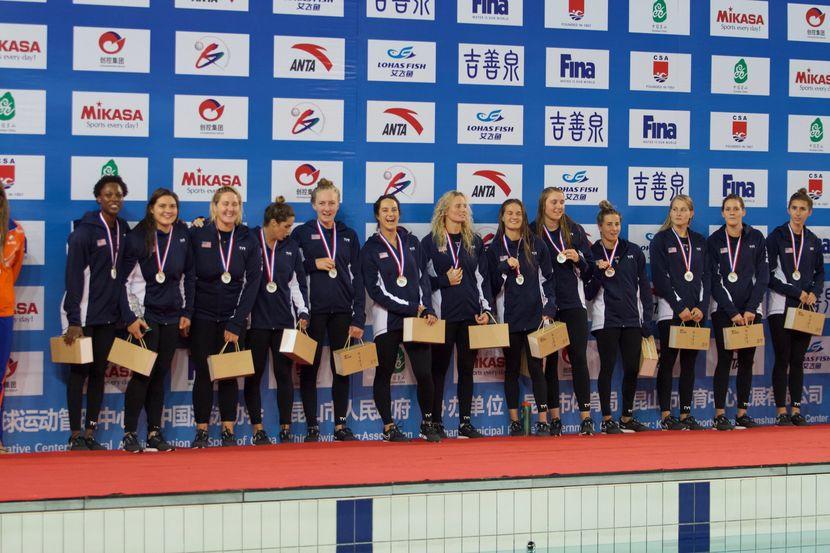 USA retains FINA Women's Water Polo Super Final in Kunshan
