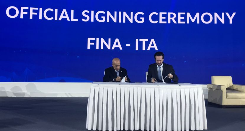 PR 103 - FINA signs agreement with ITA