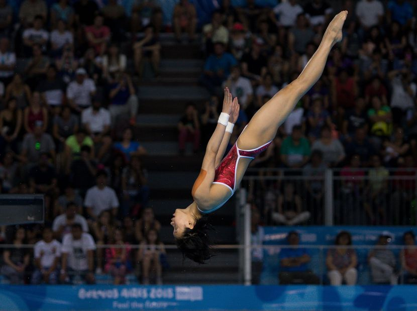 YOG BA 2018: Lin (CHN) also imperial in the 3m