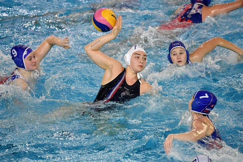 OGQT Women's Water Polo Day 3: Greece and Italy group winners