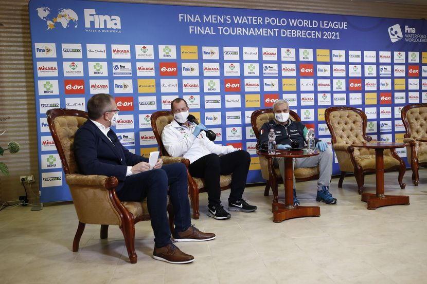 FINA action is back in the pool after 303 days